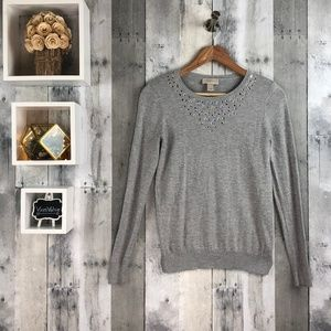 LOFT | Embellished Sweater